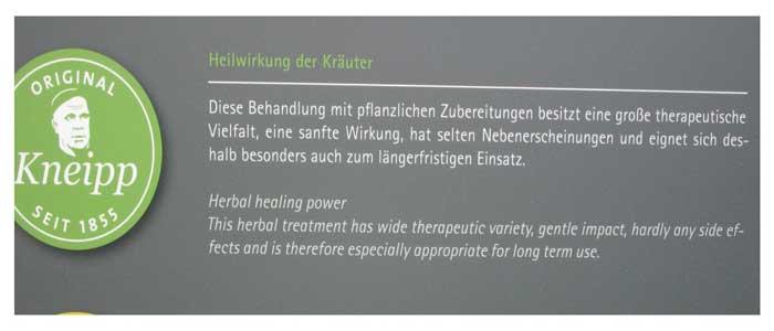 5-Säulen-Kneipps-Kräuter